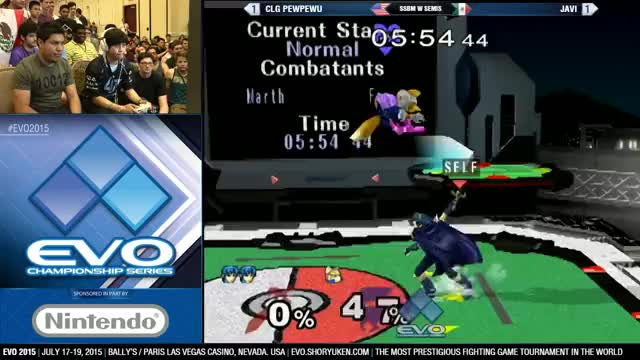 Javi's insane combo on PewPewU