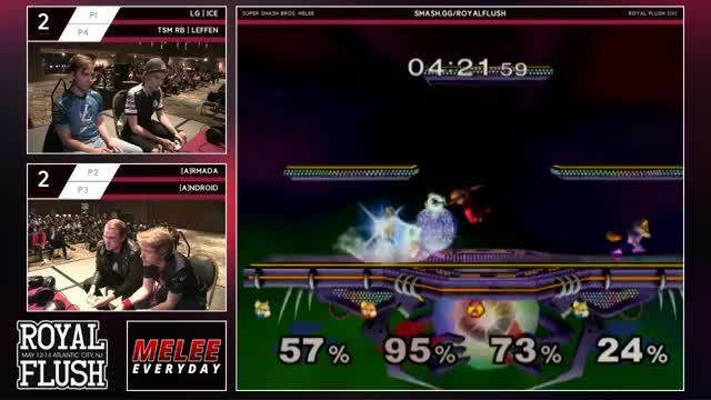 Back to back clutches in Doubles Winners Finals at Royal Flush
