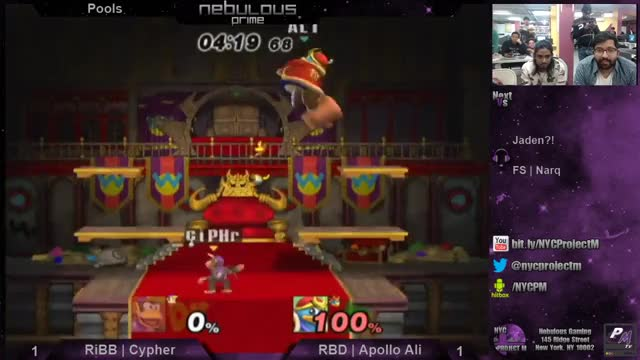 GR SMASH ARE YOU WATCHING BECAUSE I PROMISE MY HANDSHAKES AREN'T USUALLY THIS AWKWARD (x-post from /r/SSBPM)