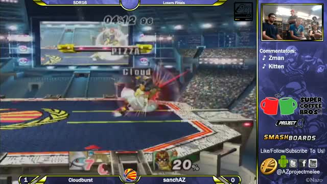 A Squirtle manages to kill Captain Falcon off the top