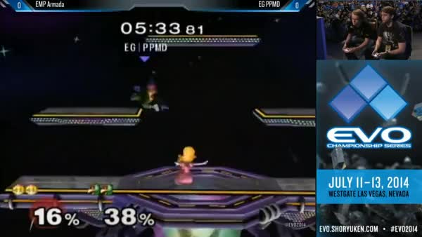 Brutal Combo from PPMD against Armada at EVO 2014