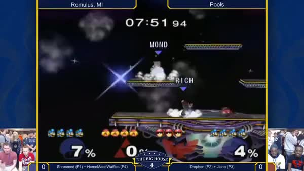 Silliest edgeguard I've seen in a while (BH4 Leffen vs. Slayer) (X-post /r/smashbros)