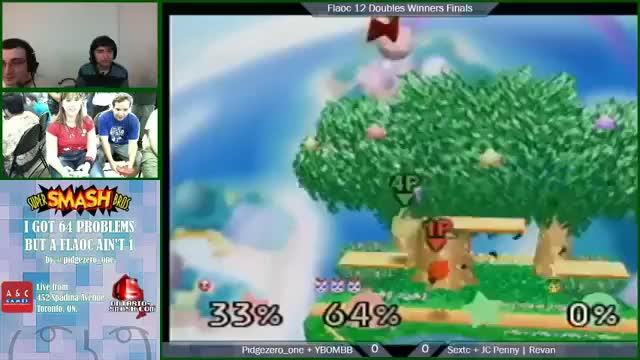 Awesome Team Combo from Pidge and YBOMBB [x-post from /r/smashbros]