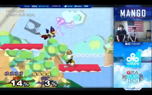 Mango posterizes Leffen's first stock on stream