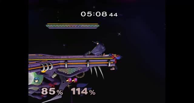I did something kind of cool as Falco