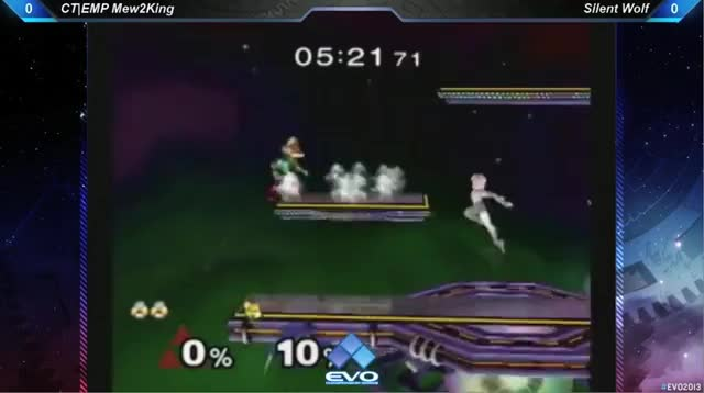M2k ends Silent Wolf off of one utilt