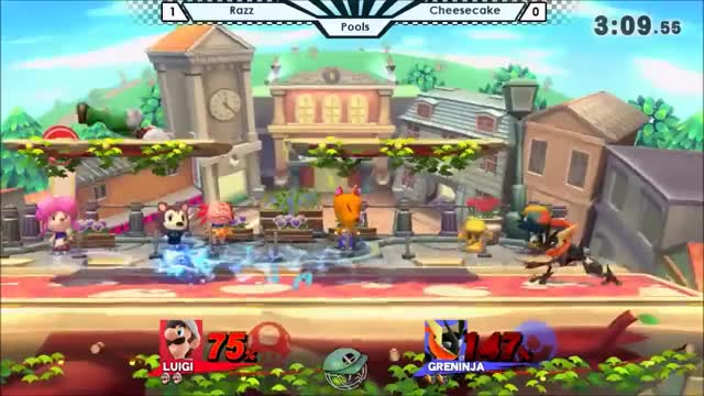 A nice little kill set up I did on my first ever stream appearance (greninja)