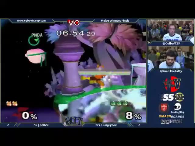 Colbol's insane recovery against Hungrybox at Fight Pitt V