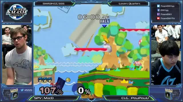 PewPewU letting the 4 chords of f-smash ring on MacD.