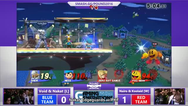 (GFY) CLG Nakat with a HOT Ness edgeguard for the win