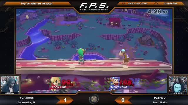 A great bomb setup into hard read kill off the top. (Toon Link)