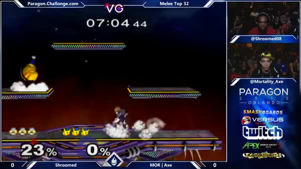 Axe knows how to finish his combos.