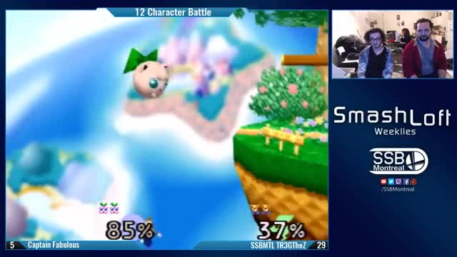 Shine Shield Break on Puff by TR3GTheZ