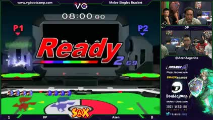 Azen with a strong first stock against DP
