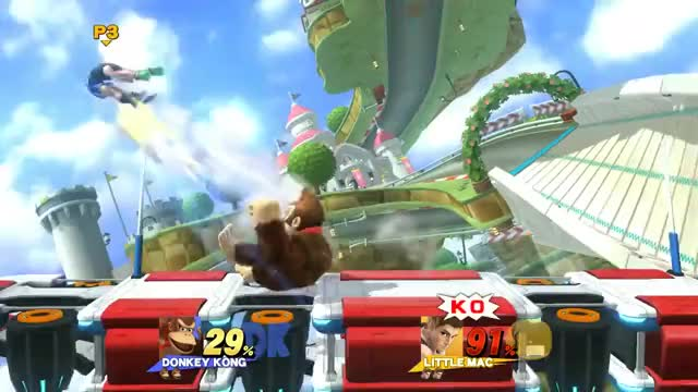Classic dong stage spike.