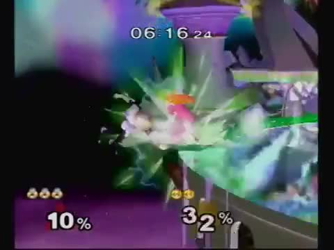 Wake with a pretty bombin' edgeguard on M2K.