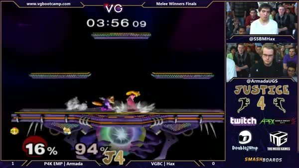 Hax with the comeback vs Armada – Justice 4