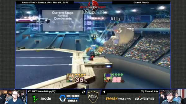 Ally embarrasses Mew2king