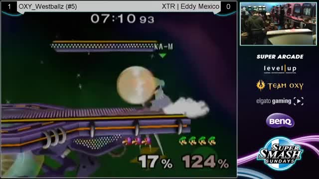 [Luigi] Eddy Mexico's late nair to up-b string
