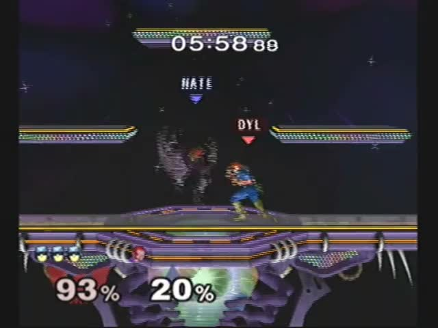Insane offstage Falcon play. Happened last night
