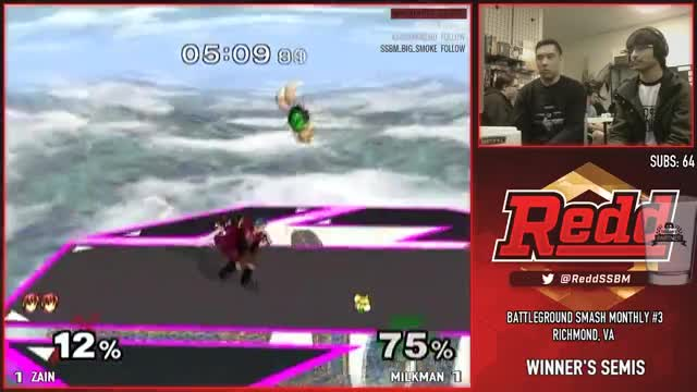 Zain invents another combo against Milkman