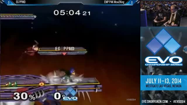 M2K's absurd sheik combo from his set with PPMD at Evo