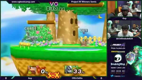 Guy's edgeguards are on point