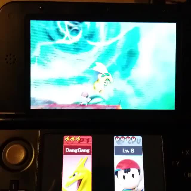 Custom Charizard can carry people off-screen and recover- Without an UpB