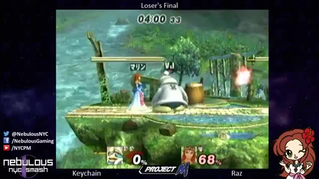 PSA: You Can Roll Out of Zelda's Up Smash