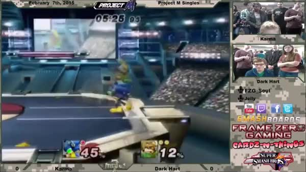 How to edgeguard with Sonic 101