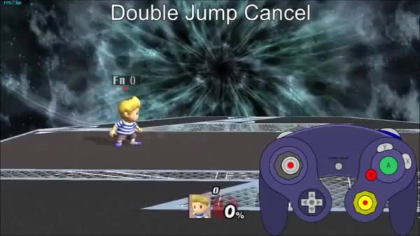By the Inputs: Double Jump Cancelled Aerials, Double Jump Cancelled Specials (Lucas)