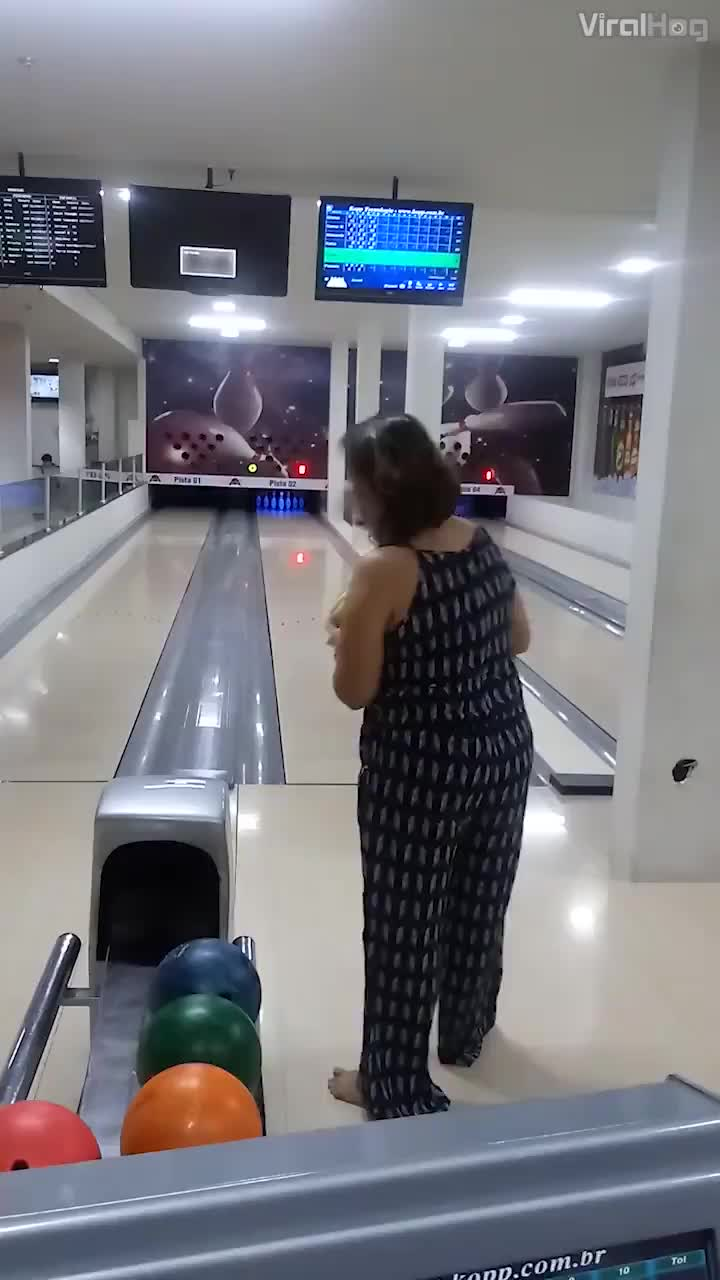 To bowl