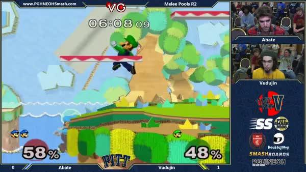 [Luigi] Can't touch this (xpost r/smashbros)