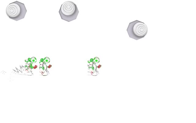 Yoshi Egg Throw Strengths