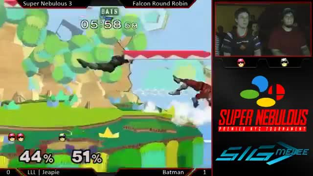Jeapie shows Lucky how to end a Falcon ditto with style