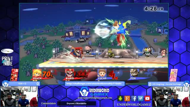 Doubles footstool combo!