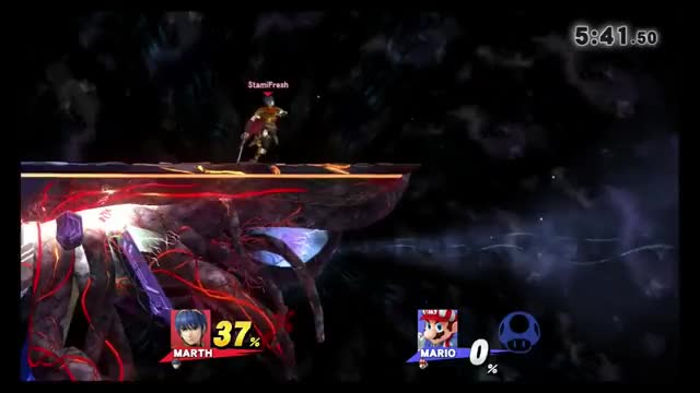 Why you always tech a falcon stomp