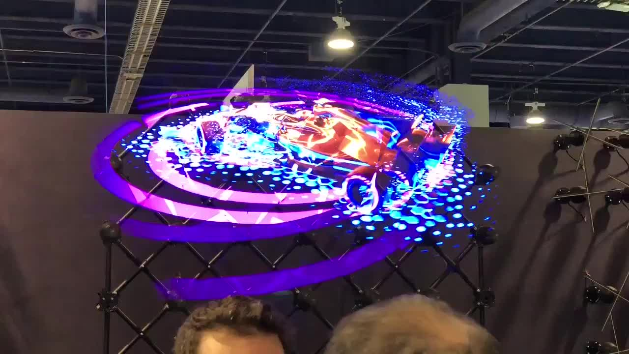 Hologram tech shown off at CES