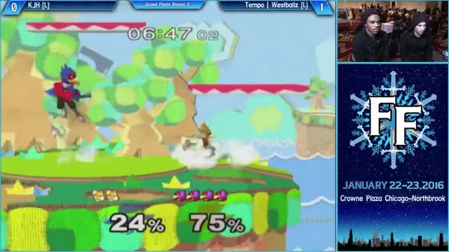 Westballz making sure KJH continues to hate Falco