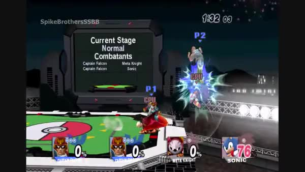 Here's a Captain Falcon Wombo Combo for y'all.
