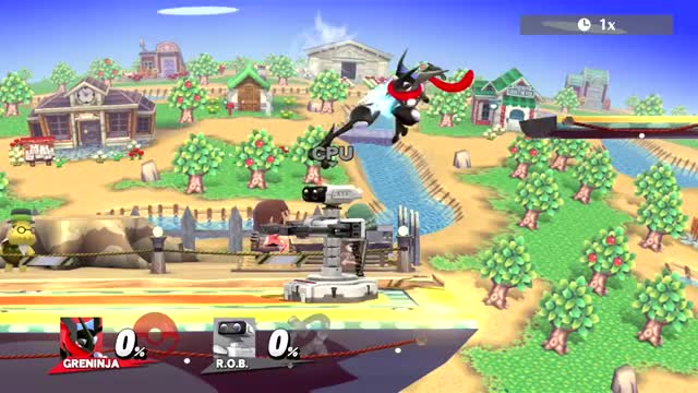 Unusual Greninja Combo by PHaZeX3R0
