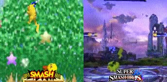 I really love how Smash 64's flash effect for fastfalling is returning in Smash 4. It's the little things, y'know?