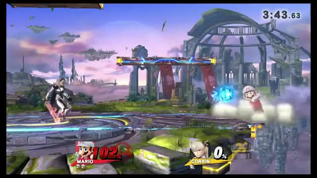 Corrin Dragon Lunge -> Stage spike -> Footstool kill
