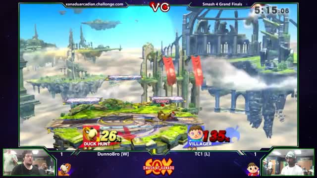 DunnoBro's amazing Duck Hunt neutral B setup
