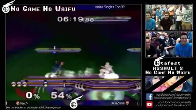 Hax's bad mannered Falcon combo last weekend