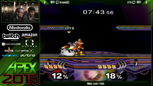 Armada's Fox putting in work