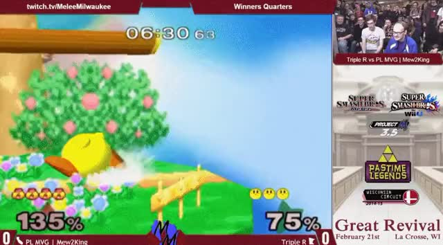 Triple R waits and pokes M2K