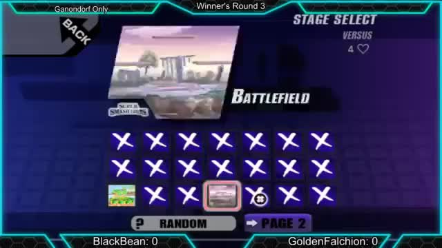 The proper way to start a Ganondorf Ditto