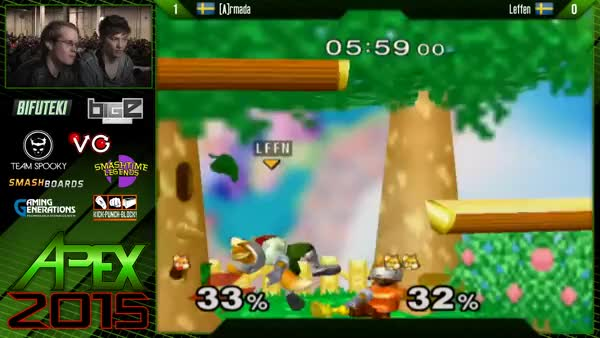 Armada with the quintuple up airs on Leffen