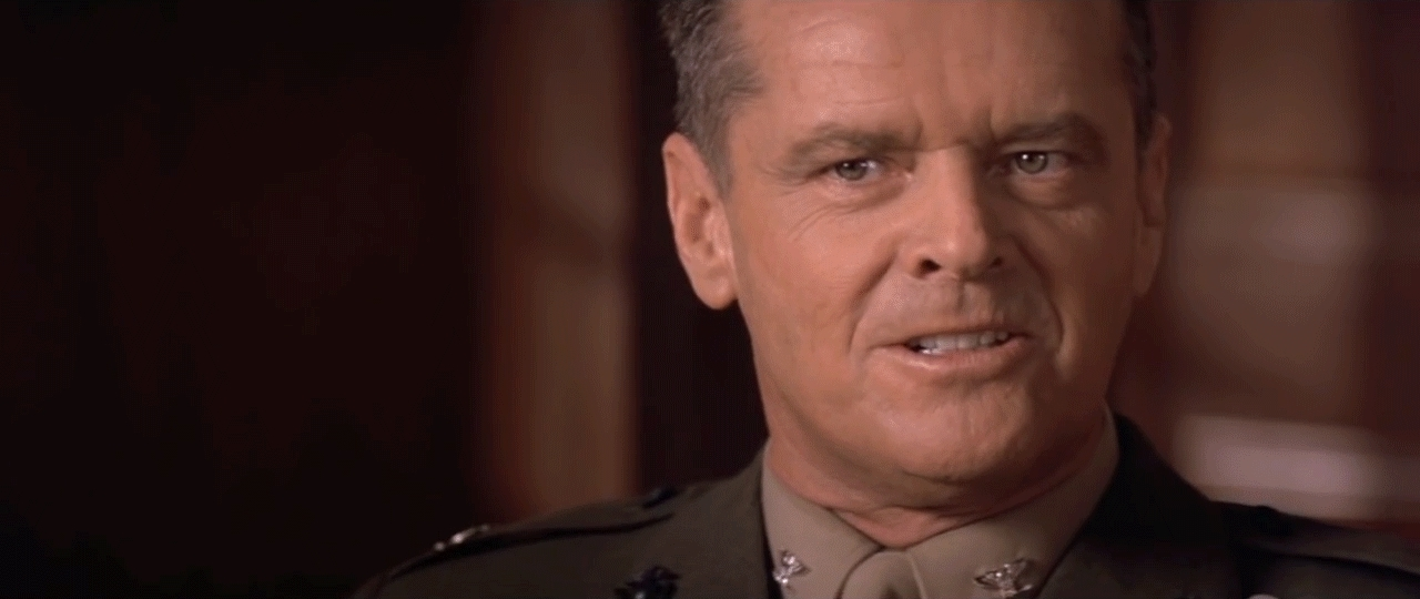 review of a few good men A few good men movie review - one of the biggest problems that people tend to have with this film is the direction, mainly that it doesn't trust the intelligence.